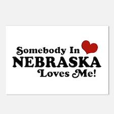 Somebody in Nebraska Loves Me Postcards (Package o