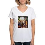 Suspect Company Women's V-Neck T-Shirt