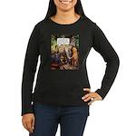 Suspect Company Women's Long Sleeve Dark T-Shirt