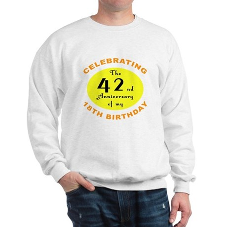 Celebrating 60th Birthday Sweatshirt