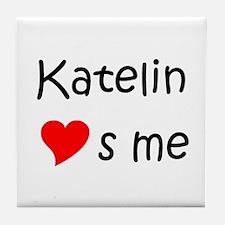 Unique Katelin Tile Coaster