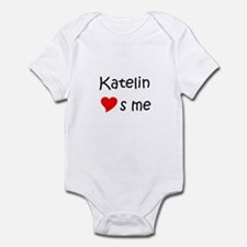 Funny Katelin Infant Bodysuit