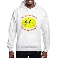 Celebrating 65th Birthday Gifts Hoodie