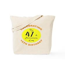 Celebrating 65th Birthday Gifts Tote Bag