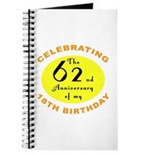 Celebrating 80th Birthday Journal