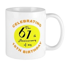 Celebrating 85th Birthday Mug