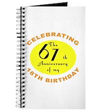 Celebrating 85th Birthday Journal
