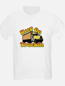Keep On Truckin Kids T-Shirt