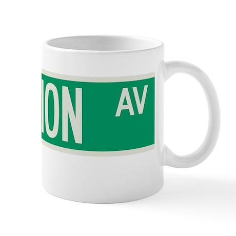 Fashion Avenue in NY Mug
