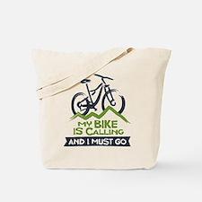 My Bike is Calling Tote Bag