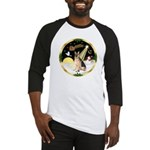 Night Flight/German Shepherd #11 Baseball Jersey