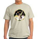 Night Flight/German Shepherd #11 Light T-Shirt