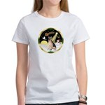 Night Flight/German Shepherd #11 Women's T-Shirt