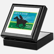 Life's a Game Polo is SERIOUS! Keepsake Box