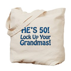50th Birthday Gifts Tote Bag
