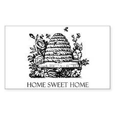 Home Sweet Home Rectangle Sticker 10 pk)