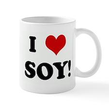 I Love SOY! Mug