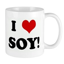 I Love SOY! Small Mug