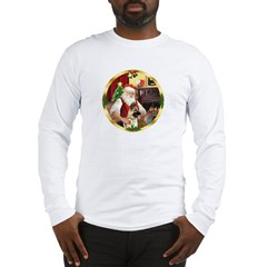 Santa's German Shepherd #13 Long Sleeve T-Shirt