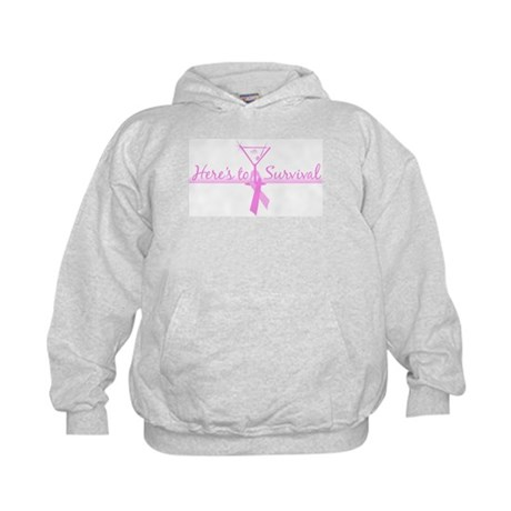 Here's to Survival Kids Hoodie