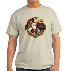 Santa's German Shepherd #12 T-Shirt