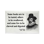 Francis Bacon Quote 5 Rectangle Magnet (100 pack)