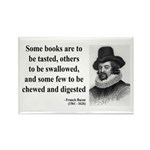Francis Bacon Quote 5 Rectangle Magnet