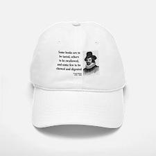 Francis Bacon Quote 5 Baseball Baseball Cap