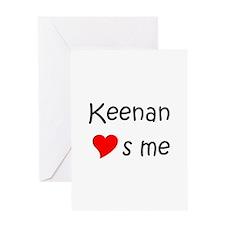 Keenan Greeting Card