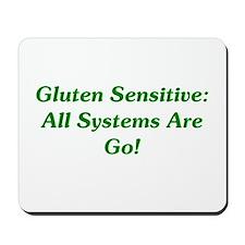 Gluten Sensitive: Go! Mousepad