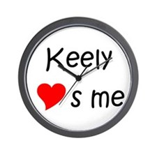 Unique Keely Wall Clock