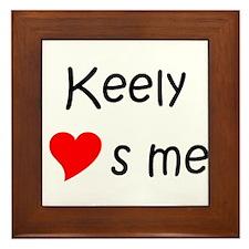 Funny Keely Framed Tile