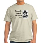 Francis Bacon Quote 6 Light T-Shirt