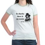 Francis Bacon Quote 6 Jr. Ringer T-Shirt