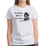 Francis Bacon Quote 6 Women's T-Shirt