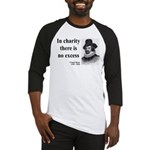 Francis Bacon Quote 6 Baseball Jersey