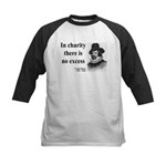 Francis Bacon Quote 6 Kids Baseball Jersey