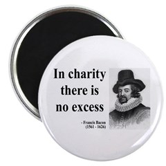 """Francis Bacon Quote 6 2.25"""" Magnet (100 pack)"""