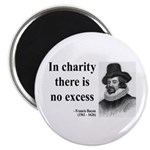 "Francis Bacon Quote 6 2.25"" Magnet (10 pack)"