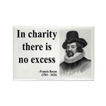 Francis Bacon Quote 6 Rectangle Magnet (100 pack)