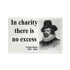 Francis Bacon Quote 6 Rectangle Magnet (10 pack)