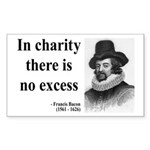 Francis Bacon Quote 6 Rectangle Sticker