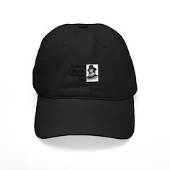Francis Bacon Quote 6 Baseball Hat