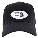 Francis Bacon Quote 6 Black Cap