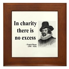 Francis Bacon Quote 6 Framed Tile