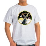 Night Flight/German Shepherd #15 Light T-Shirt
