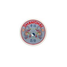 Shanghai Dragons Mini Button