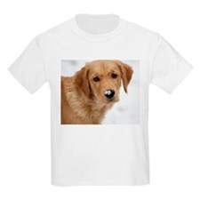 Snowy Nose Golden Kids T-Shirt