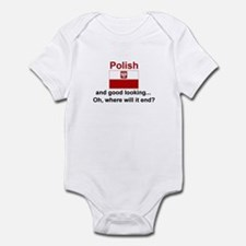Good Looking Polish Infant Bodysuit