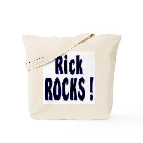 Rick Rocks ! Tote Bag